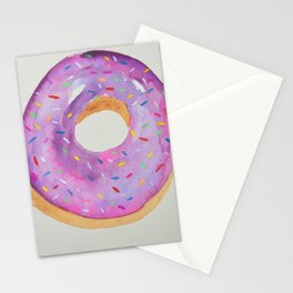 Doughnut with Sprinkles Stationery Cards