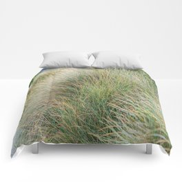 Beach Grass, New Zealand  Comforters