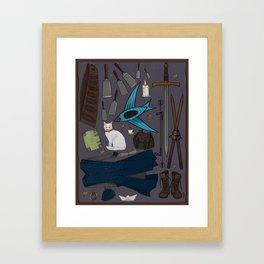 Sabriel tool kit Framed Art Print