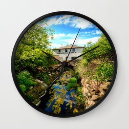 Dundee Mill Wall Clock