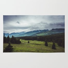 Mountain Trail - Landscape and Nature Photography Rug