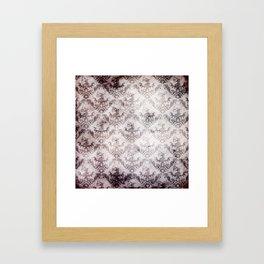 Bloodstained Baroque Framed Art Print