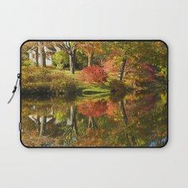 Asticou Azelea Garden in Fall Mount Desert Island Maine Laptop Sleeve