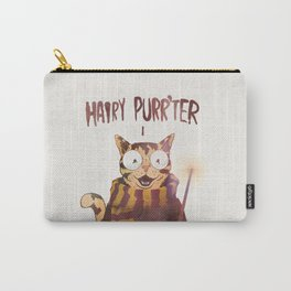 HAIRY PURR'TER Carry-All Pouch