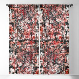 Imogene in Red Blackout Curtain