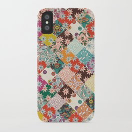 sarilmak patchwork iPhone Case