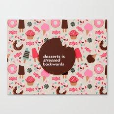 desserts! Canvas Print