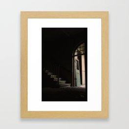 First step is the hardest Framed Art Print