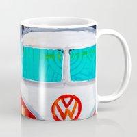 vw Mugs featuring VW by Drica Lobo Art