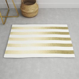 Simply Striped Gilded Palace Gold Rug