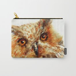 Bronzai _ Owl Carry-All Pouch