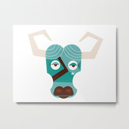 Babe the Blue Ox Metal Print