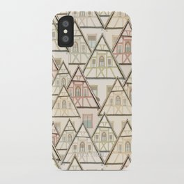 Pattern Houses iPhone Case