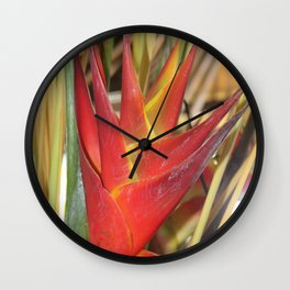 Bali Surprise Wall Clock