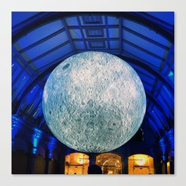 The Blow Up Moon Canvas Print