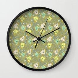 Juliette, gray Wall Clock