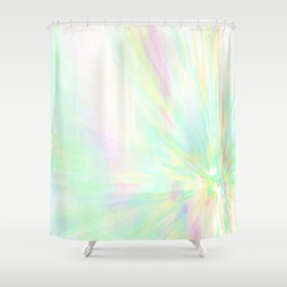 Re-Created Rapture 1 by Robert S. Lee Shower Curtain