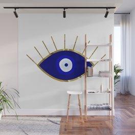I See You Evil Eye Wall Mural