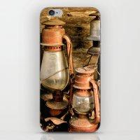 lanterns iPhone & iPod Skins featuring lanterns by Lisa Carpenter