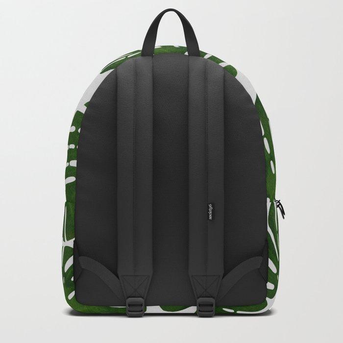 Monstera Leaf II Backpack