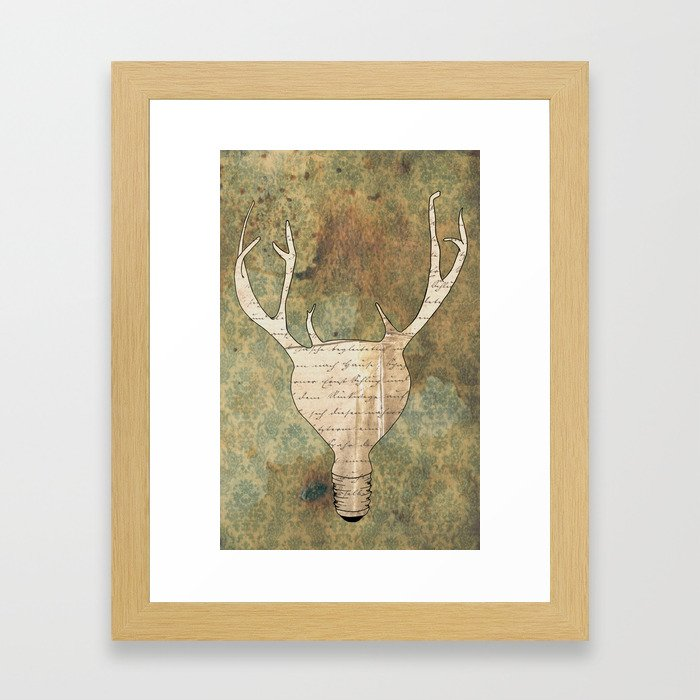 Brilliant Idear Framed Art Print