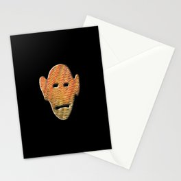 Abstract Mask III Stationery Cards