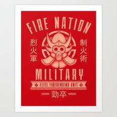 Fire is Fierce Art Print