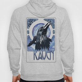 The Raven and The Moon Hoody