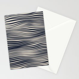 Waving Lines Stationery Cards