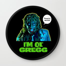Old Gregg Wall Clock