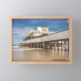 Daytona Pier Joe's Crab Shack Framed Mini Art Print