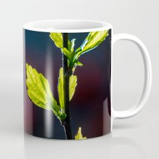 Leaves in a colorful world Mug