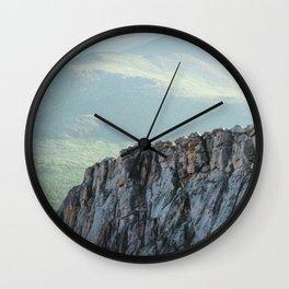 Mountain Ridge Wall Clock
