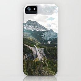 Icefields Parkway, Alberta iPhone Case