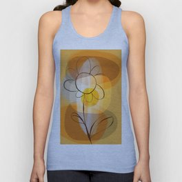 Abstract flower Unisex Tank Top