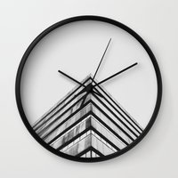 divergent Wall Clocks featuring Divergent by Stijn Dijkstra