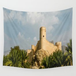 Omani Fort 1 Wall Tapestry