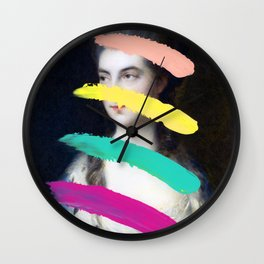 Composition 716 Wall Clock