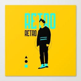 SHINee - Retro Canvas Print