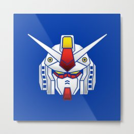 Mobile Suit in Disguise Metal Print