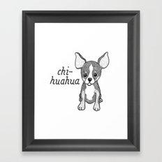 Dog Breeds: Chihuahua Framed Art Print