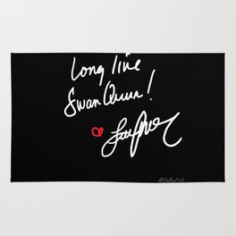 Long live Swan Queen! Rug