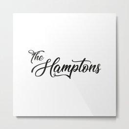The Hamptons Metal Print