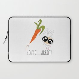 HOLY C...ARROT! Laptop Sleeve