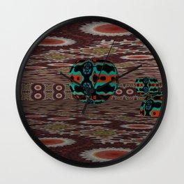 New Ball Invasion 4 Wall Clock