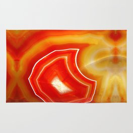 Orange Agate Rug