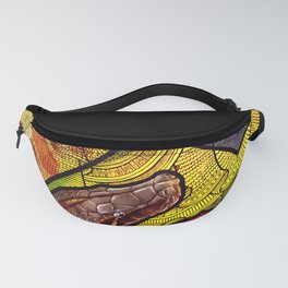 Blood Python Fanny Pack