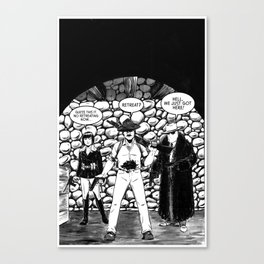CARVER: A Paris Story Canvas Print