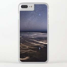Sirius Beach Clear iPhone Case