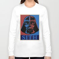 sith Long Sleeve T-shirts featuring Sith lord by coolz77